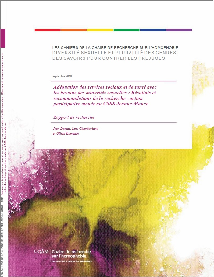 Page couverture Rapport CSSS