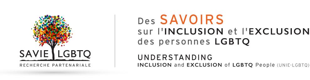 Logo du projet de recherche partenariale SAVIE LGBTQ
