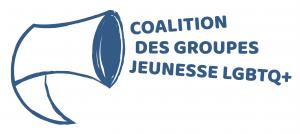 Logo de la Coaltion des groupes jeunesse LGBTQ+